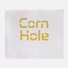 Corn Hole Throw Blanket