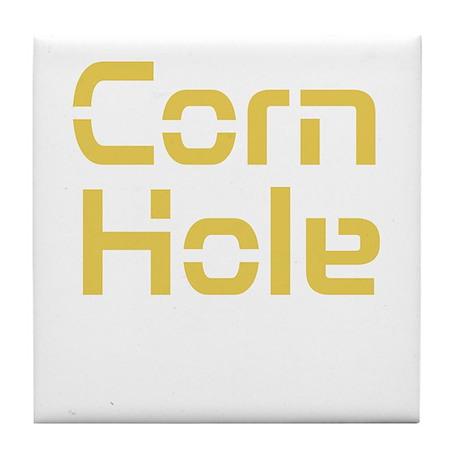 Corn Hole Tile Coaster