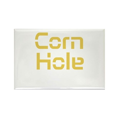 Corn Hole Rectangle Magnet