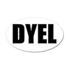 DYEL Wall Decal