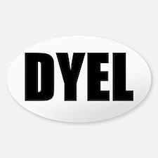 DYEL Sticker (Oval 10 pk)