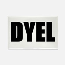 DYEL Rectangle Magnet (10 pack)