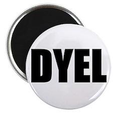 "DYEL 2.25"" Magnet (100 pack)"