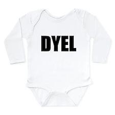 DYEL Long Sleeve Infant Bodysuit