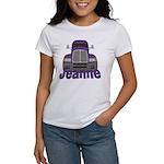 Trucker Jeanne Women's T-Shirt