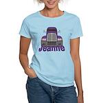 Trucker Jeanne Women's Light T-Shirt