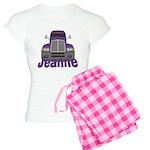 Trucker Jeanne Women's Light Pajamas