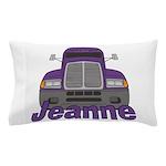 Trucker Jeanne Pillow Case