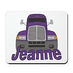 Trucker Jeanne Mousepad