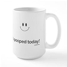 i pooped today Ceramic Mugs