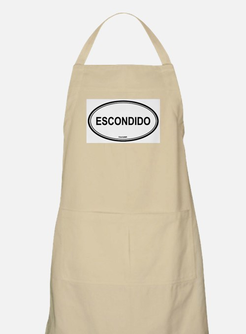 Escondido (California) BBQ Apron