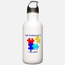 Puzzle Water Bottle