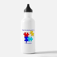 Puzzle Water Bottle