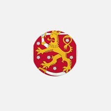 Finland Coat Of Arms Mini Button