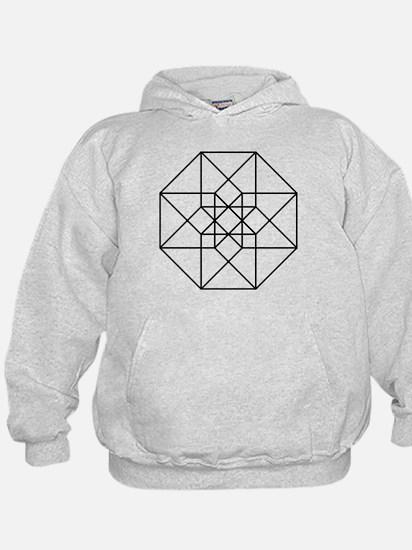 Geometrical Tesseract Hoodie