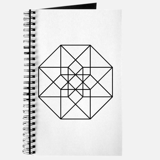 Geometrical Tesseract Journal