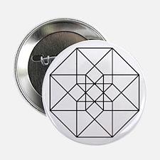 "Geometrical Tesseract 2.25"" Button"