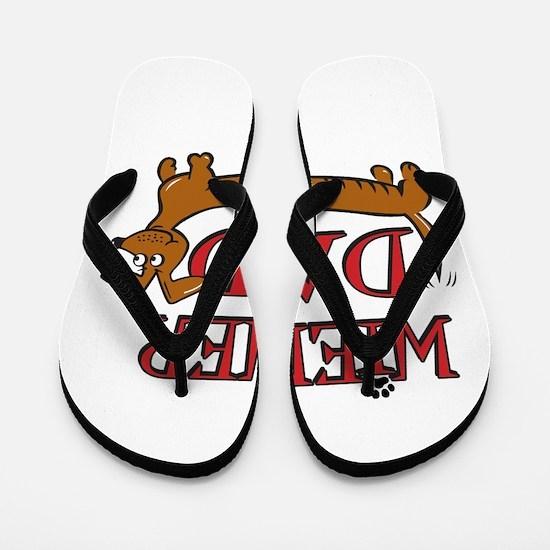 Wiener Dad/Octoberfest Flip Flops