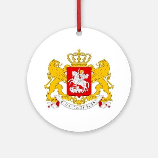 Georgia Coat Of Arms Ornament (Round)