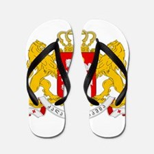 Georgia Coat Of Arms Flip Flops