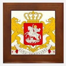 Georgia Coat Of Arms Framed Tile