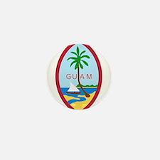 Guam Coat Of Arms Mini Button