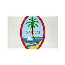 Guam Coat Of Arms Rectangle Magnet