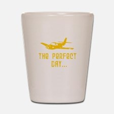 Urban Airplane Shot Glass