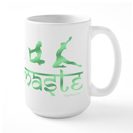 Namaste yoga green Mugs