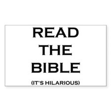 Read The Bible Decal