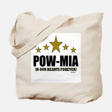 POW-MIA In Our Hearts Forever Tote Bag