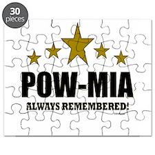 POW-MIA Always Remembered Puzzle