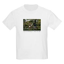 Eye on Gardening TV Shoot Kids T-Shirt