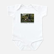 Eye on Gardening TV Shoot Infant Creeper