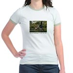 Eye on Gardening TV Shoot Jr. Ringer T-Shirt