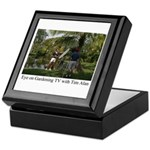 Eye on Gardening TV Shoot Keepsake Box