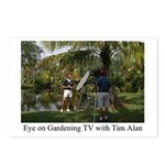 Eye on Gardening TV Shoot Postcards (Package of 8)