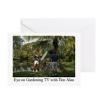 Eye on Gardening TV Shoot Greeting Cards (Package