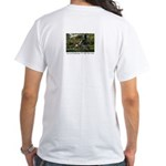 Eye on Gardening TV Shoot White T-Shirt
