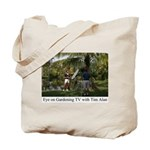 Eye on Gardening TV Shoot Tote Bag