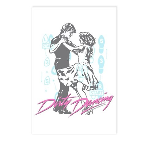 Dirty Dancing Dance Moves Postcards (Package of 8)