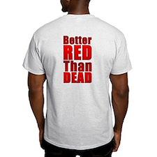 RED POWER! Combo Print T-Shirt
