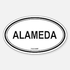 Alameda (California) Oval Decal