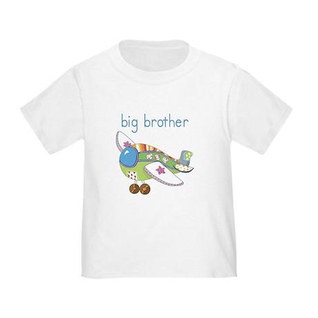 Airplane Big Brother Toddler T-Shirt
