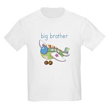 Airplane Big Brother Kids Shirt