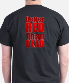 RED POWER! Combo Print T-Shirt