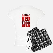 RED POWER! Combo Print Pajamas