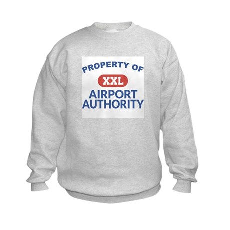 Property of Airport Authority Kids Sweatshirt