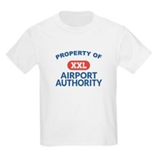 Property of Airport Authority Kids Shirt