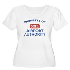 Property of Airport Authority Womens Plus Size
